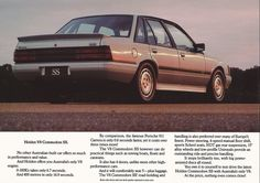Brochures: Commodore VK SS and SS Group 3 Holden Australia, Holden Monaro, Aussie Muscle Cars, Australian Cars, Gm Car, Car Advertising, All Cars, Brochures, Vintage Posters