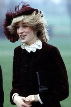 Princess Diana in Birmingham, England. December 1982  .....Uploaded By www.1stand2ndtimearound.etsy.com