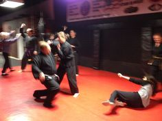 "Wednesays at the Ketsugo Fighting Arts Center is ""Weapons Wednesdays""! This week we had fun with knife attacks!"