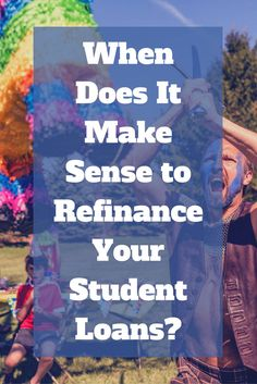 Refinancing your student loans isn't always a good idea, even if you can get a lower interest rate. via @momanddadmoney