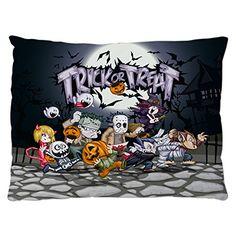 Personnalisé Halloween Zombie-Trick or Treat Stickers-Pack de 18