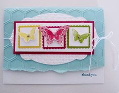 Stampin Up Bitty Butterfly Punch photo