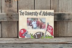 Alabama Wooden Frame available @ Blue Bumble Bee Boutique...we ship 205-426-9330