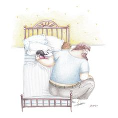 Soosh: Artist's Tender Illustrations Show The Kind Of Father She Wishes She'd Had