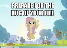 Prepare for hugs