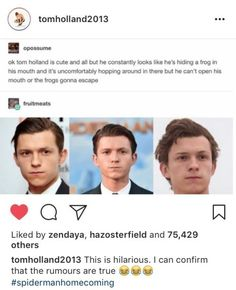 But before you start feeling bad for Tom, don't worry! He reacted to the meme on Instagram and he loves it.