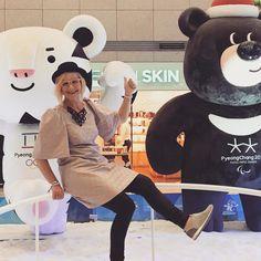 Seoulissa ollaan. Helmikuun olympialaisia markkinoidaan.