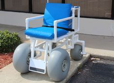 PVC Chairs - The most affordable beach wheelchair - Accessibility to all outdoor recreation and entertainment