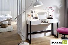 Konsola / biurko BECO - sklep meblowy Industrial Style, Office Desk, Loft, Living Room, Bed, Furniture, Home Decor, Homemade Home Decor, Desk Office