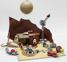 SoNE Ep. II: Abandoned outpost by LegoFjotten on Flickr