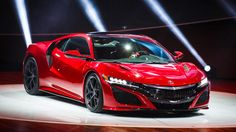 This highly anticipated sports car finally sees the light of day here at the 2015 Detroit auto show as the 2016 Acura NSX, on sale late this year.