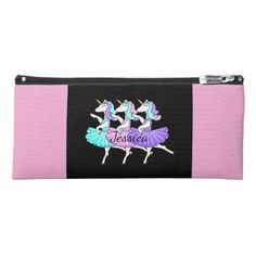 #personalize - #Dancing unicorns pencil case