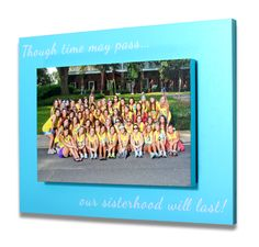 Sorority Sister Quote Bid Day Block (Delta Gamma) GreekYearbook Sorority Composites, Fraternity Composites, Sorority bid day and Fraternity and Sorority party pictures and products. The best greek composite, bid day, and event photography services nationwide!