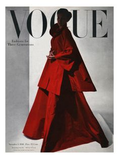 §§§ : Vogue Cover : November 1946  by Horst P. Horst