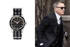 The watch that Daniel Craig (James Bond) is wearing in Spectre is the Omega Seamaster 300 Master Co Axial with Striped NATO strap. Cool Watches, Watches For Men, James Bond Watch, Spectre 2015, Daniel Craig James Bond, Omega Seamaster 300, Omega Watch, Mens Fashion, Lifestyle