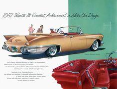 General Motors for 1957 Cadillac Eldorado Biarritz convertible in bronze