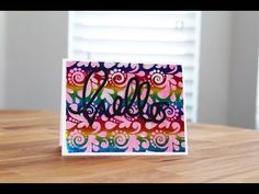 Deco Foil Negative Background - Tutorial | Got Joy Creations - by Dana Joy