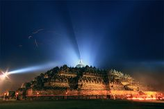 Remembering the Birth, Enlightenment and Death of Buddha, at Borobudur, the world largest Buddhist Monument