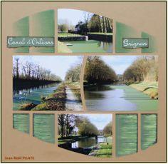 Au bord du Canal d'Orléans - Grignon