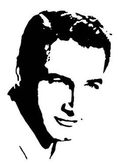 Effetto stencil con Photoshop e Illustrator Wood Etching, 3d Pencil Drawings, White Art, Black And White, Star Illustration, Classic Movie Posters, Cross Stitch Pictures, Cardboard Art, Silhouette Art