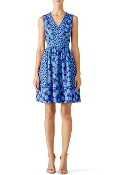 Rent Blue Tangier Floral Dress by kate spade new york for $60 only at Rent the Runway.