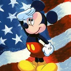 patriotic mickey - Google Search