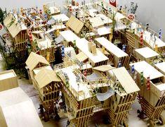 建築は模型も面白い。想像力溢れるクリエイティブな模型。9つ【Architecture】 でか山 岡田翔太郎