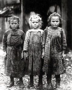It's About Time: A Few Portraits of Extreme Poverty - 1930s Children of The Great Depression bjws.blogspot.com