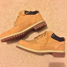 Men Timberland wheat boots NIB Men. Brand new. Size 10.5 Timberland Shoes Ankle Boots & Booties