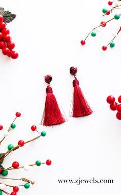 red tassel earrings, Tassel earrings, tassel earrings 2017, tassel earrings beaded boho, tassel earrings beaded, red tassel earrings jewelry, red tassel earrings products, tassel earrings flatlay, jewelry flatlay, jewelry flatlay instagram, jewelry flatlay accessories