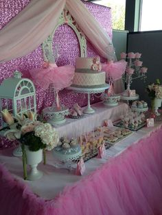 Ballerina Baby Shower Party Ideas | Photo 16 of 33 | Catch My Party