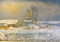 Alan Stuttle's work on display at the National Coal Mining Museum Coal Mining, Painters, Painting & Drawing, To Go, Museum, Display, History, Gallery, Drawings
