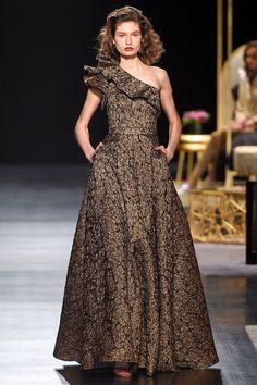 "polishmodels: "" Kasia Krol - Badgley Mischka, Ready To Wear, Fall/Winter 2017, New York Fashion Week """