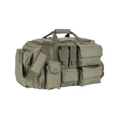 Red Rock Outdoor Gear Operations Duffle Bag - Olive Drab ($69) ❤ liked on Polyvore featuring bags, luggage and green