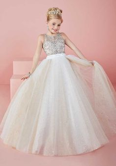 Cheap girls pageant dresses, Buy Quality flower girl dresses directly from China pageant dresses Suppliers: Cute Angel Baby Ball Gowns Girls Pageant Dresses Sheer Crew Neck Beaded Crystals Backless Blingbling Long Flower Girl's Dresses Little Girl Pageant Dresses, White Flower Girl Dresses, Pageant Gowns, Girls Party Dress, Wedding Party Dresses, Pretty Dresses, Beautiful Dresses, Girls Dresses, Bridesmaid Dresses