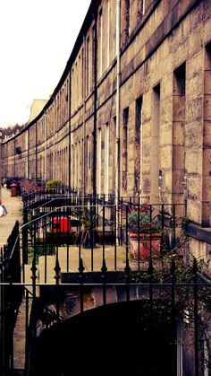 Edinburgh - the rows of townhouses in this city give it an almost Parisian feel at times. Paris may have champagne, but Edinburgh has Innis & Gunn!