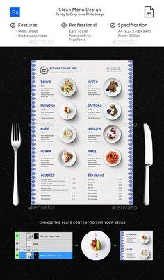 Menu Templates from GraphicRiver Food Menu Template, Restaurant Menu Template, Restaurant Menu Design, Japanese Restaurant Menu, Noodle Restaurant, Menu Templates, Chinese Menu, Japanese Menu, Food Menu Design