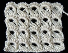 Crochet : Punto Peruano ❤ http://www.youtube.com/watch?v=s5tRr_YNYo8