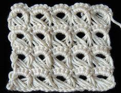 Crochet : Punto Peruano ❤ http://www.youtube.com/watch?v=s5tRr_YNYo8