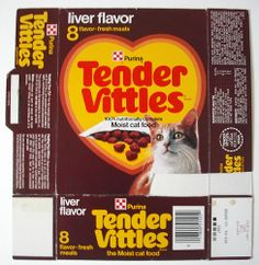 1979 Ralston Purina Tender Vittles Cat Food Box Front by gregg_koenig, via… Vintage Advertisements, Vintage Ads, Retro Ads, Sweet Memories, Childhood Memories, Cat Nutrition, 80s Kids, Ol Days, The Good Old Days