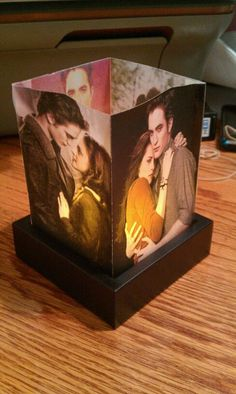 I have one of these with all the Twilight book covers and I love it!