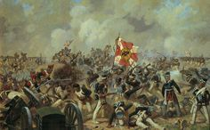 "Fight for the ""Bagration Flèches"" at Borodino by Averyanov Alexander"