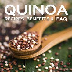 Quinoa- recipes, nutrition facts, benefits & faq.
