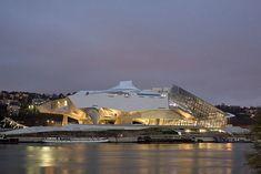 Coop Himmelb(l)au'nun Lyon'daki Müzesi Tamamlandı