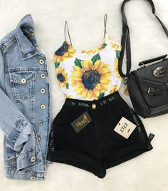 Clothes Trendy Casual New Ideas Teen Fashion Outfits, Cute Fashion, Outfits For Teens, Girl Outfits, Tumblr Outfits, Mode Outfits, Grunge Outfits, Cute Casual Outfits, Cute Summer Outfits