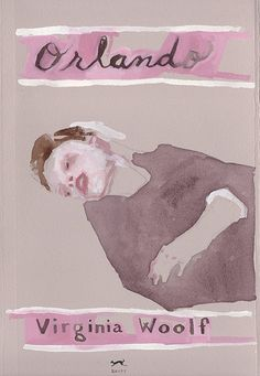 "Jennie Ottinger ""Orlando (book cover)"""