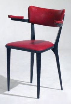 By  Ernest Race, 1 9 4 6, The BA chair,  it won the Gold Medal at the 10th Milan Triennale in 1951. (The BA range of chairs was designed to utilise aluminium recycled from decommissioned WW2 aircraft)