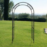 Gardman Quatrefoil 7.5 ft. Steel Arch