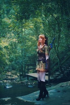 The Legend of Zelda - 05 - Kokiri Forest by beethy.deviantart.com
