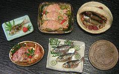 といといのミニチュア【和の惣菜屋さん3】